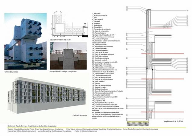 Propuesta VPO Pamplona construcción industrializada.