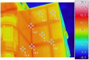 foto termografica fachada