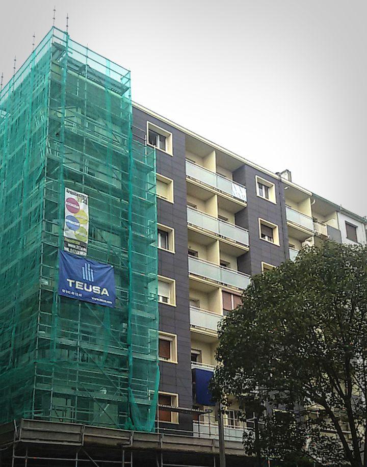 Vista nueva fachada