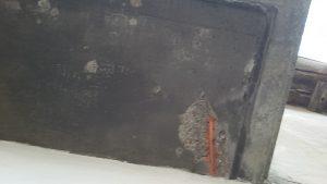 Estado de parte baja de balcón