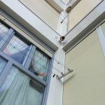 detalle esquina balcones y ventanas