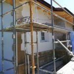 Colocación de SATE y detalles fachada